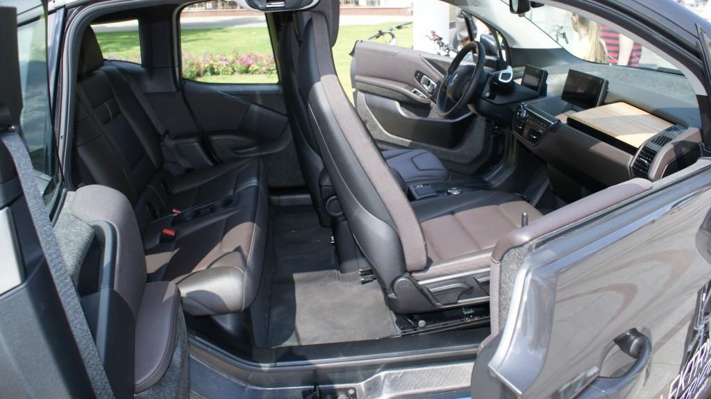 BMW i3 wnętrze