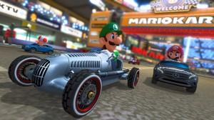 Mercedes-Benz W 25 Silberpfeil in Nintendo  Mario Kart 8 - Mercedes-Benz W 25 Silver Arrow in Nintendo Mario Kart 8