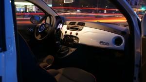 Fiat 500 wnętrze