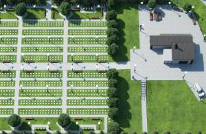 Przy ul. Przyrodników znajdzie się miejsce na 2,5 tys. grobów dla naszych braci mniejszych. Fot. mat. prasowe