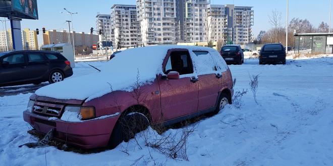 Wraki samochodów Zaspa (2)